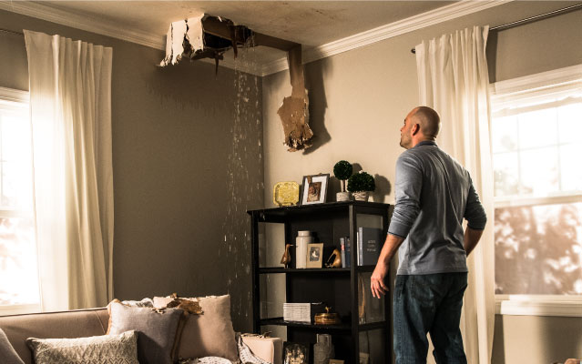 house damage restoration
